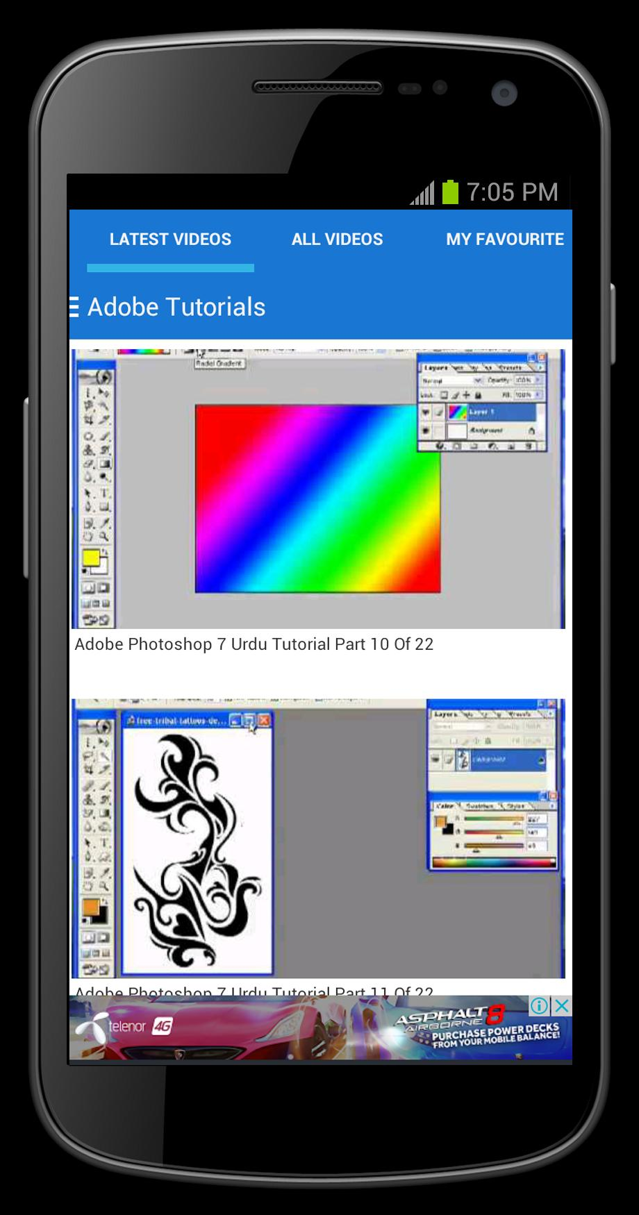 Adobe Photoshop 7.0 Tutorial for Android - APK Download