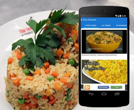 Rice Recipes screenshot 1