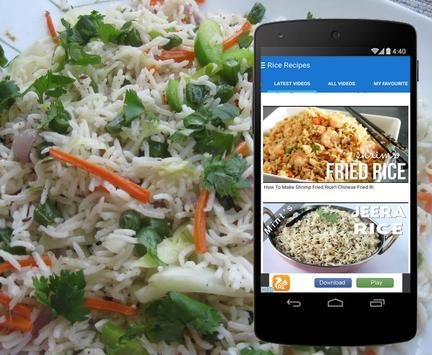 Rice Recipes screenshot 2