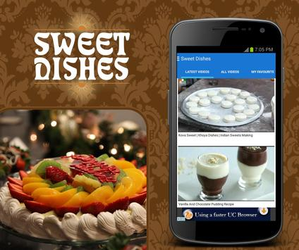 Sweet Dishes apk screenshot