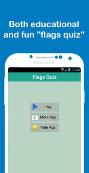 Flags Quiz poster