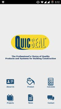 QUICSEAL SG poster
