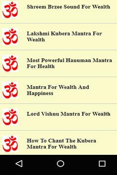 Wealth & Money Mantras Videos screenshot 1