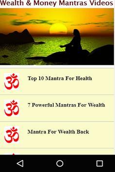 Wealth & Money Mantras Videos screenshot 2