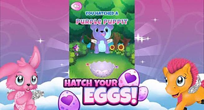 Hatchimals surprise opening eggs poster