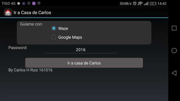 Ir a Casa de Carlos screenshot 1