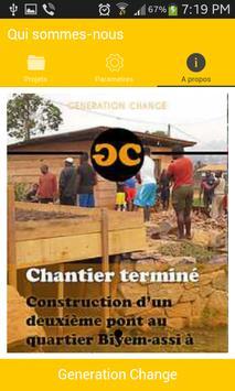 Generation Change poster