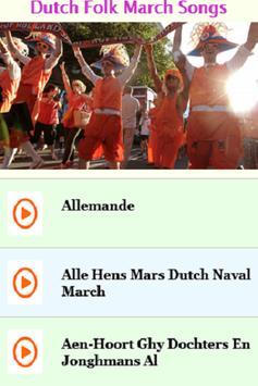 Dutch Folk March Songs poster