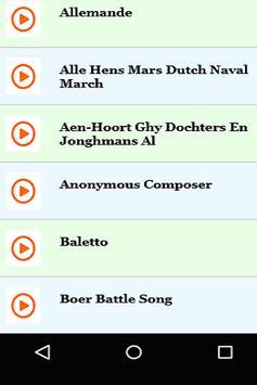 Dutch Folk March Songs screenshot 1
