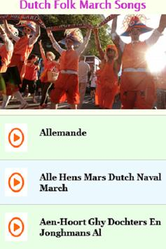 Dutch Folk March Songs screenshot 4