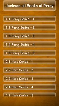 Jackson all Books of Percy poster