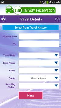 IRCTC Authorised eTicket Book screenshot 1
