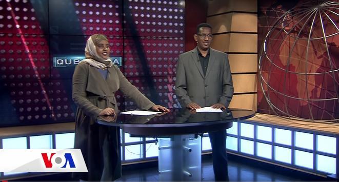 VOA SOMALI TV poster