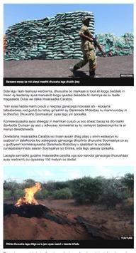 VOA SOMALI TV screenshot 3