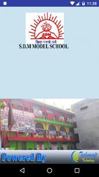 SDM Model School poster