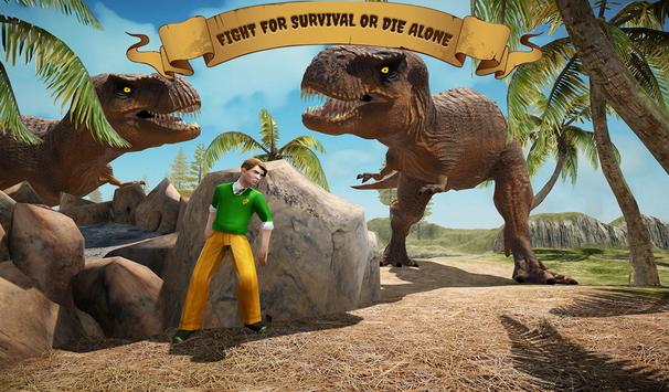 Ark Survival escape Dino Hunter Game poster