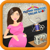 Mommy Fashion Tailor shop icon