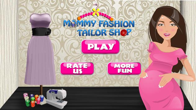 Mommy Fashion Tailor shop poster