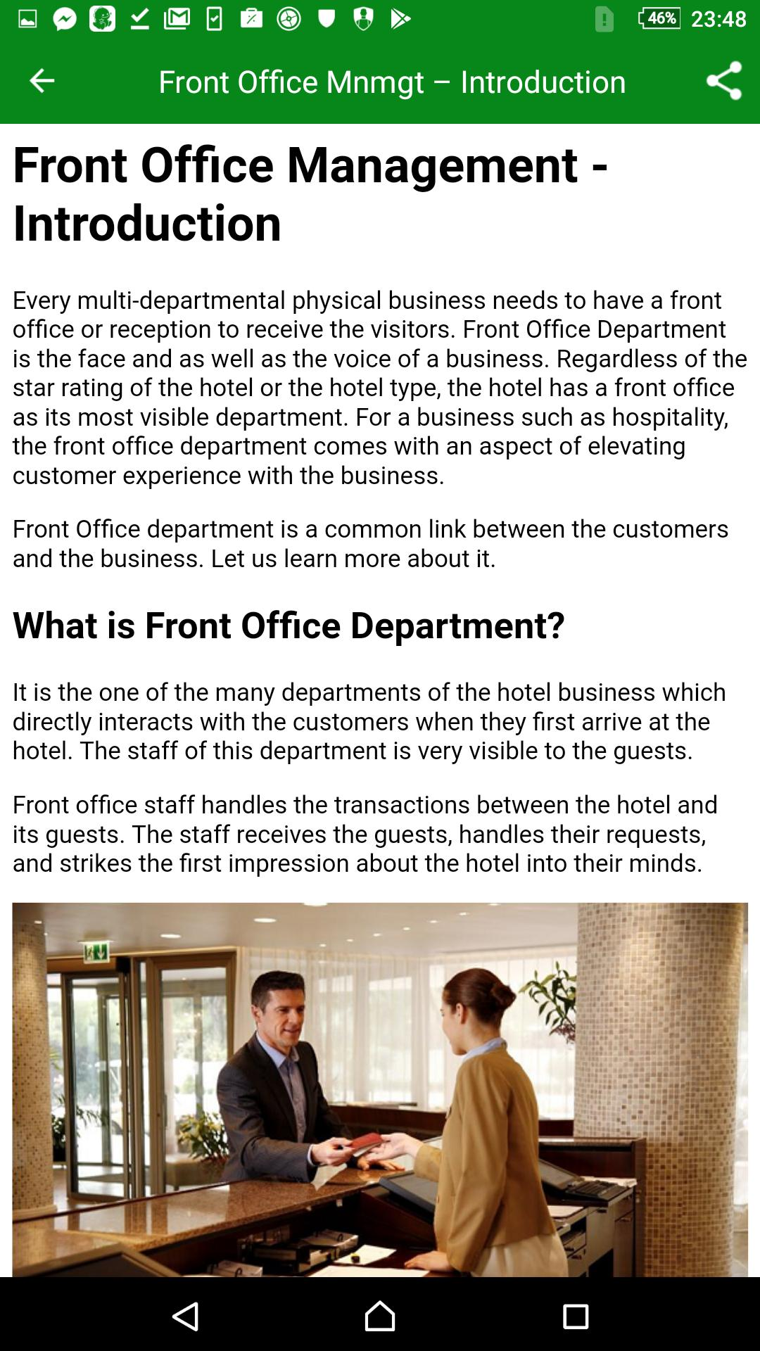 Front Office Management for Android - APK Download