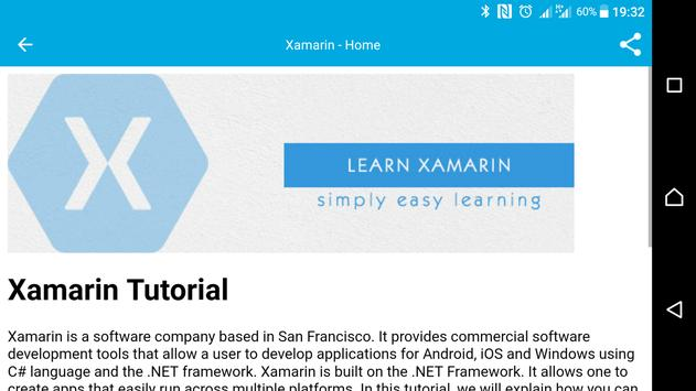 Learn Xamarin for Android - APK Download