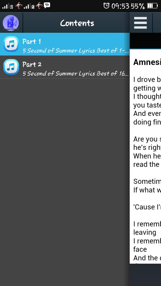 5SOS - Song Lyrics for Android - APK Download