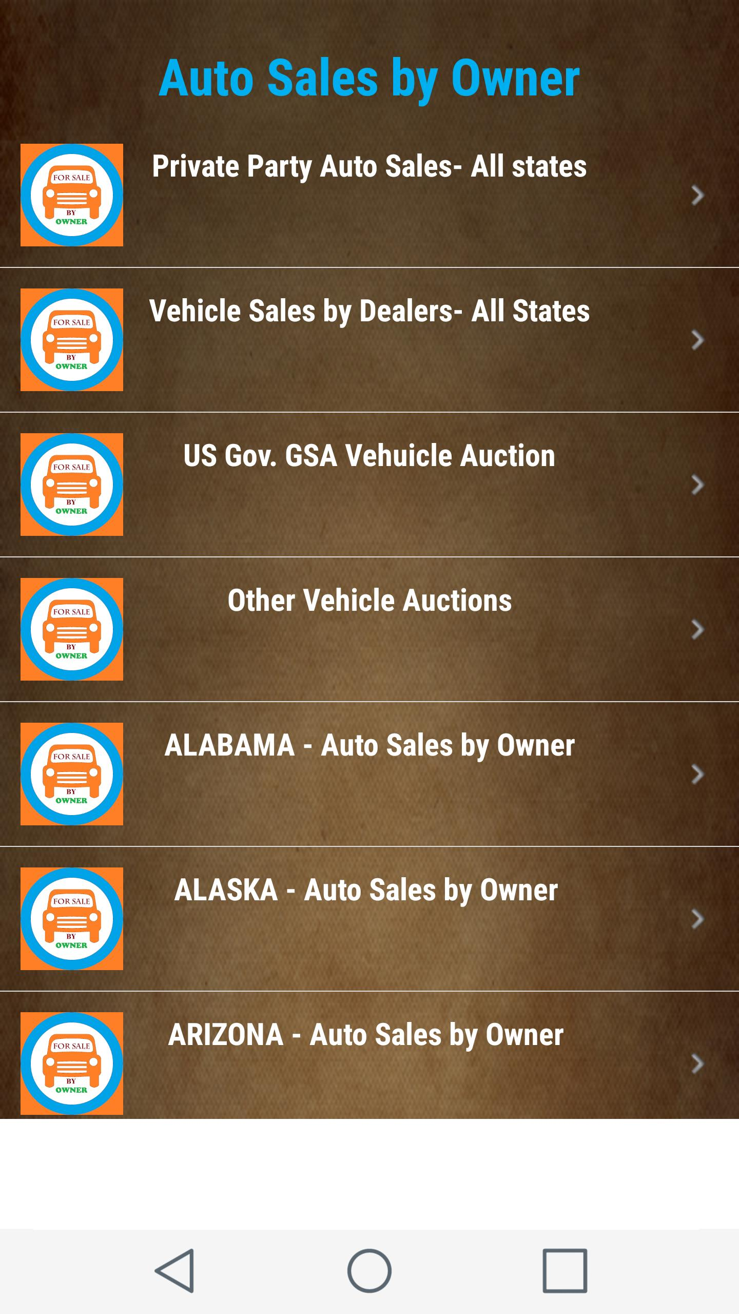 Cars Trucks For Sales By Owner Private Party Usa For Android Apk Download
