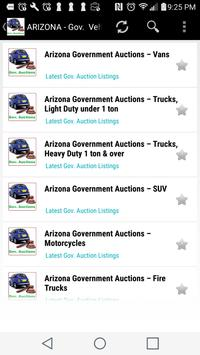 Government  Vehicle Auction  Listings - All States screenshot 2