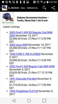 Government  Vehicle Auction  Listings - All States screenshot 4
