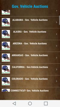 Government  Vehicle Auction  Listings - All States screenshot 6