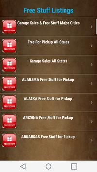 Free Stuff for Pickup Listings - All States USA apk screenshot