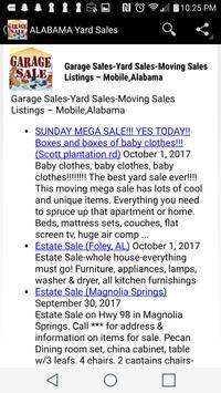 Yard Sale - Garage Sale - Moving Sale Listings USA for