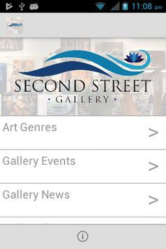 Second Street Gallery poster