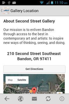 Second Street Gallery screenshot 1