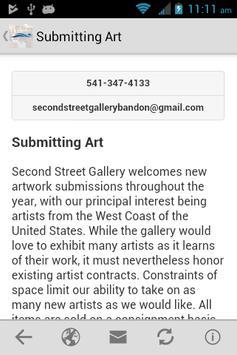 Second Street Gallery screenshot 3