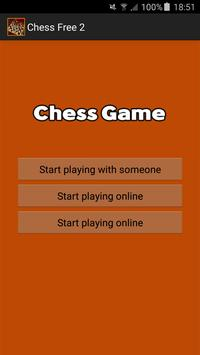 Chess Free 2 poster