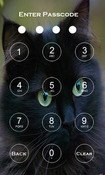 Cat Screen Passcode Lock poster