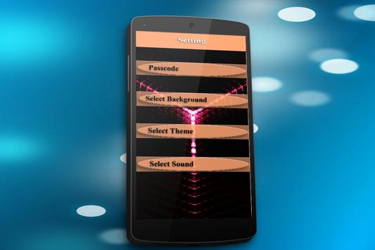 Neon Screen Password Lock apk screenshot