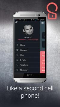 Secreto - Hidden decoy phone apk screenshot