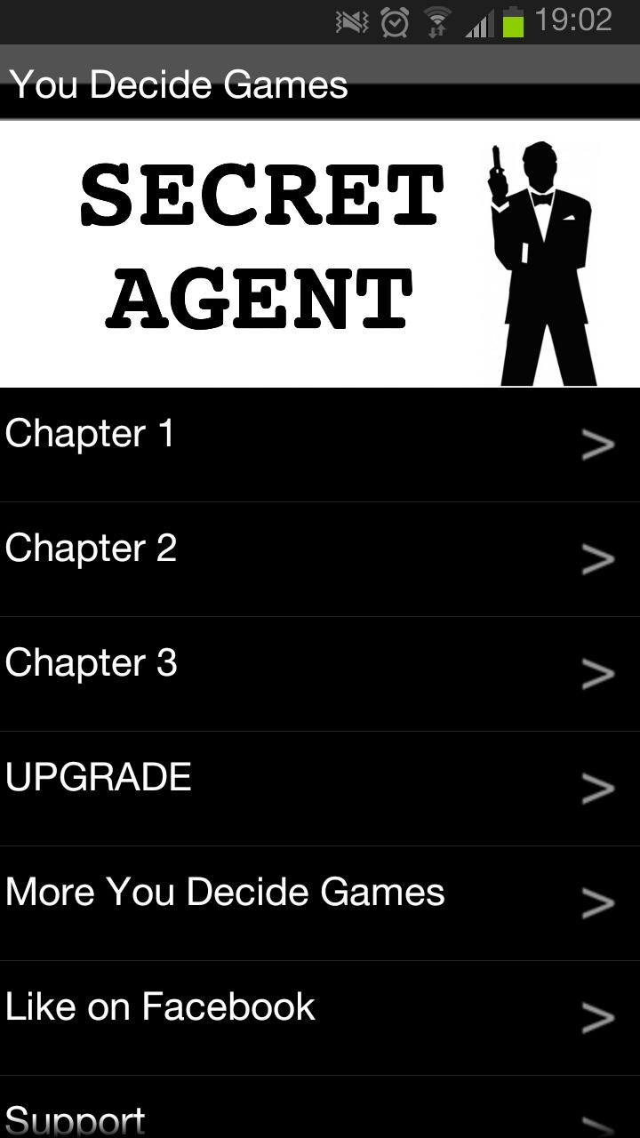 Secret Agent You Decide FREE for Android - APK Download