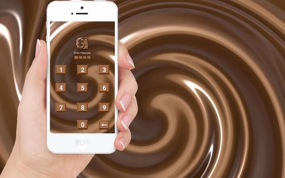 Chocolate - Applock Theme poster