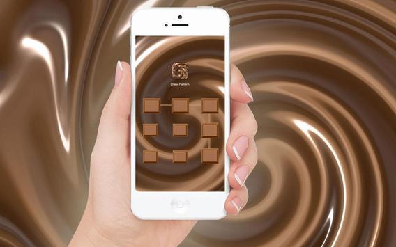 Chocolate - Applock Theme apk screenshot