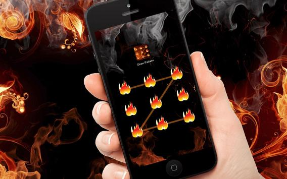 Fire - Applock Theme apk screenshot
