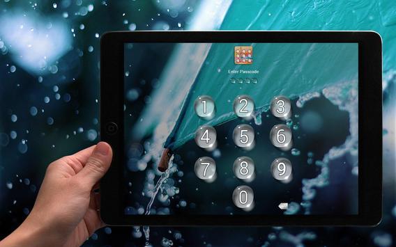 Water Drop - Applock Theme apk screenshot