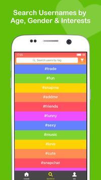 Add Friends for Snapchat, Kik apk screenshot