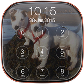Cute Puppy Pincode Lockscreen icon