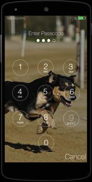 Cute Puppy Pincode Lockscreen screenshot 3