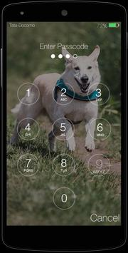 Cute Puppy Pincode Lockscreen screenshot 4