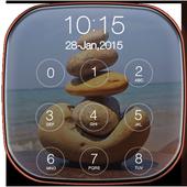 Stone Keypad Lock Screen Free icon