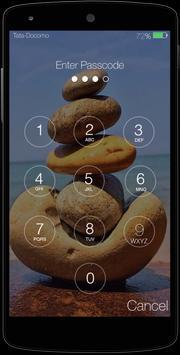 Stone Keypad Lock Screen Free screenshot 1