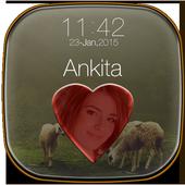 My Photo Name Lock Screen icon